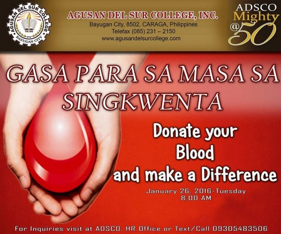 give a blood